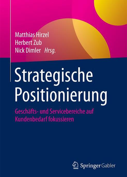Cover des Buches Strategische Positionierung, erschienen im SpringerGabler-Verlag